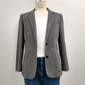 Wool Blend Women's Vintage Blazer Size 12